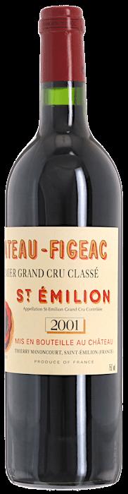 2001 CHÂTEAU FIGEAC 1er Grand Cru Classé Saint Emilion, Lea & Sandeman