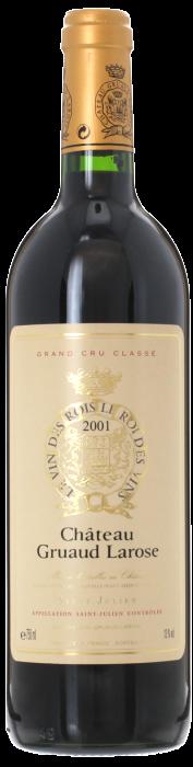 2001 CHÂTEAU GRUAUD LAROSE 2ème Cru Classé Saint Julien, Lea & Sandeman