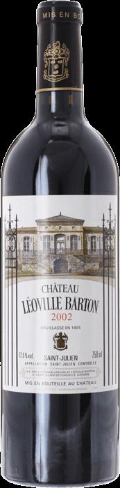 2002 CHÂTEAU LÉOVILLE BARTON 2ème Cru Classé Saint Julien, Lea & Sandeman