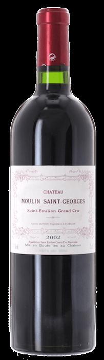 2002 CHÂTEAU MOULIN SAINT GEORGES Grand Cru Saint Emilion, Lea & Sandeman