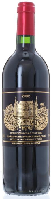 2002 CHÂTEAU PALMER 3ème Cru Classé Margaux, Lea & Sandeman