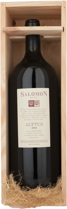 2003 ALTTUS Salomon Finiss River Estate, Lea & Sandeman