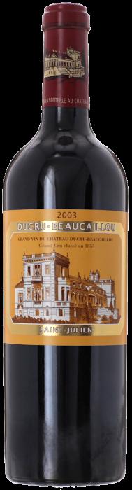 2003 CHÂTEAU DUCRU BEAUCAILLOU 2ème Cru Classé Saint Julien, Lea & Sandeman
