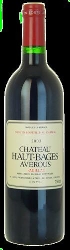 2003-CHÂTEAU-HAUT-BAGES-AVEROUS-Pauillac
