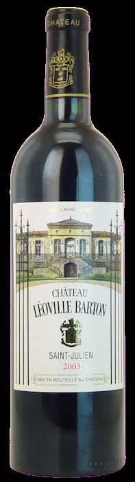 2003 CHÂTEAU LÉOVILLE BARTON 2ème Cru Classé Saint Julien, Lea & Sandeman