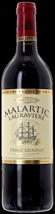 2003 CHÂTEAU MALARTIC LAGRAVIÈRE Cru Classé Pessac-Léognan, Lea & Sandeman