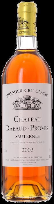2003 CHÂTEAU RABAUD PROMIS 1er Cru Classé Sauternes, Lea & Sandeman