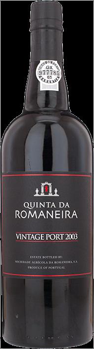 2003 QUINTA DA ROMANEIRA Vintage Port, Lea & Sandeman
