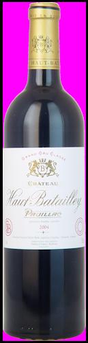 2004-CHÂTEAU-HAUT-BATAILLEY-5ème-Cru-Classé-Pauillac