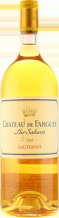 2005 CHÂTEAU DE FARGUES 1er Cru Classé Sauternes Château de Fargues, Lea & Sandeman