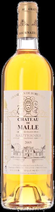 2005 CHÂTEAU DE MALLE 2ème Cru Classé Sauternes, Lea & Sandeman