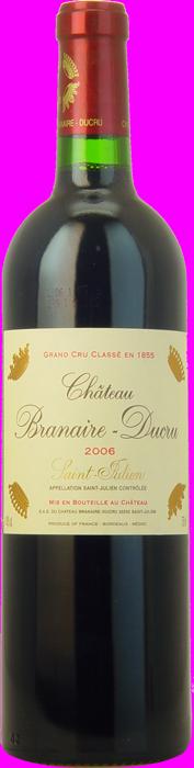 2006 CHÂTEAU BRANAIRE DUCRU 4ème Cru Classé Saint Julien, Lea & Sandeman