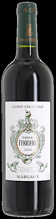 2006 CHÂTEAU FERRIÈRE 3ème Cru Classé Margaux, Lea & Sandeman
