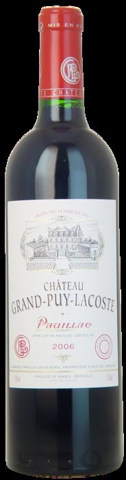 2006-CHÂTEAU-GRAND-PUY-LACOSTE-5ème-Cru-Classé-Pauillac