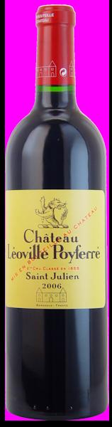 2006-CHÂTEAU-LÉOVILLE-POYFERRÉ-2ème-Cru-Classé-Saint-Julien