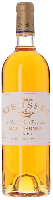 2006 CHÂTEAU RIEUSSEC 1er Cru Classé Sauternes, Lea & Sandeman