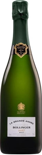2007 BOLLINGER Grande Année Brut Champagne Bollinger, Lea & Sandeman