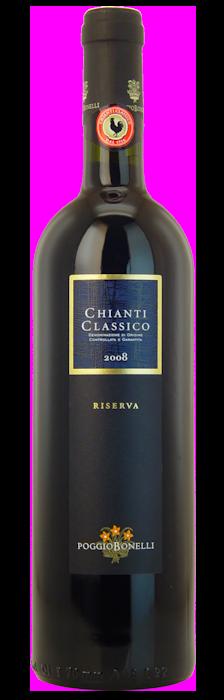 2008-CHIANTI-CLASSICO-Riserva-Poggio-Bonelli