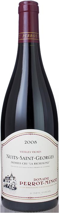 2008 NUITS SAINT GEORGES Vieilles Vignes Ultra 1er Cru La Richemone Domaine Christophe Perrot-Minot, Lea & Sandeman