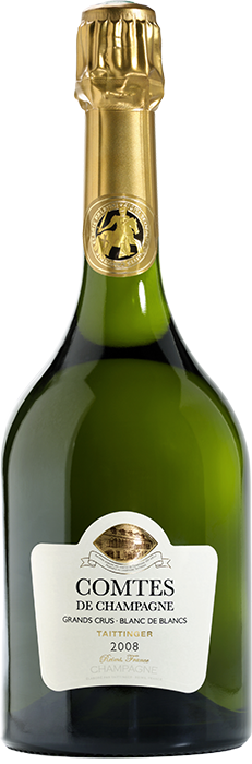 2008 TAITTINGER Comtes de Champagne Brut Gift-Pack Stock, Lea & Sandeman