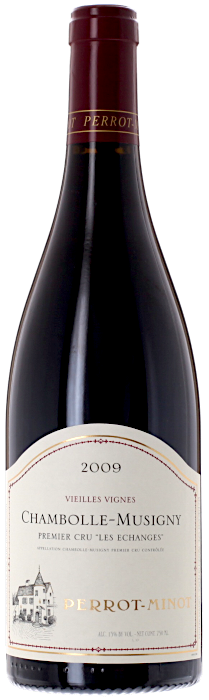 2009 CHAMBOLLE MUSIGNY 1er Cru Les Échanges Domaine Christophe Perrot-Minot, Lea & Sandeman