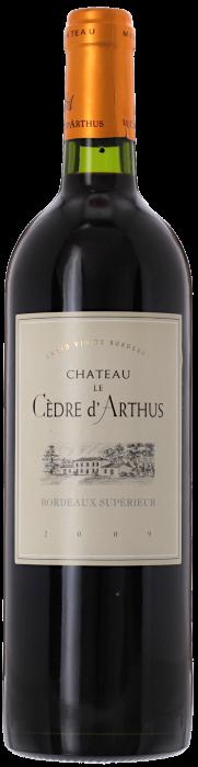 2009 CHÂTEAU CÈDRE D'ARTHUS Bordeaux Supérieur, Lea & Sandeman