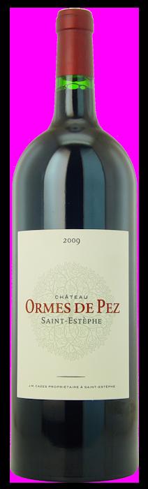 2009-CHÂTEAU-LES-ORMES-DE-PEZ-Cru-Bourgeois-Exceptionnel-Saint-Estèphe