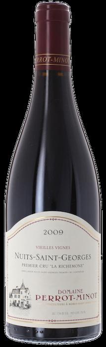 2009 NUITS SAINT GEORGES 1er Cru La Richemone Domaine Christophe Perrot-Minot, Lea & Sandeman