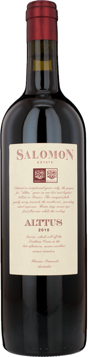 2010 ALTTUS Salomon Finniss River Estate, Lea & Sandeman