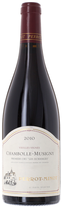 2010 CHAMBOLLE MUSIGNY 1er Cru Les Échanges Domaine Christophe Perrot-Minot, Lea & Sandeman