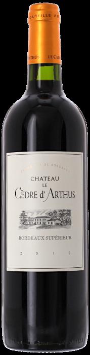2010 CHÂTEAU CÈDRE D'ARTHUS Bordeaux Supérieur, Lea & Sandeman