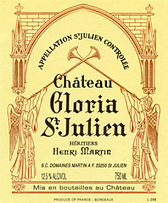 2011-CHÂTEAU-GLORIA-Cru-Bourgeois-Saint-Julien-Château-Gloria