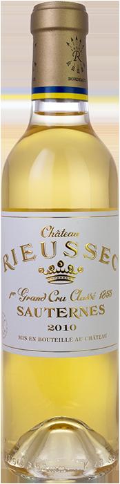 2010 CHÂTEAU RIEUSSEC 1er Cru Classé Sauternes, Lea & Sandeman