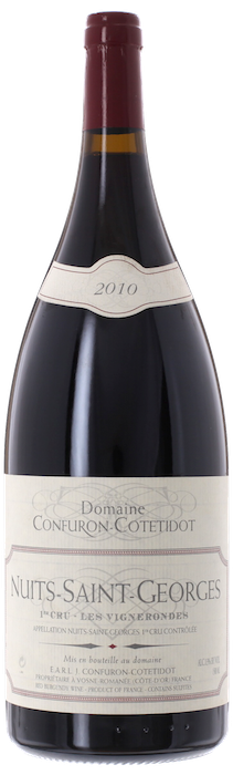 2010 NUITS SAINT GEORGES 1er Cru Les Vignes Rondes Domaine J. Confuron Cotetidot, Lea & Sandeman