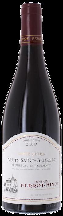 2010 NUITS SAINT GEORGES Vieilles Vignes Ultra 1er Cru La Richemone Domaine Christophe Perrot-Minot, Lea & Sandeman