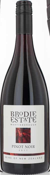 2011 BRODIE ESTATE Pinot Noir, Lea & Sandeman
