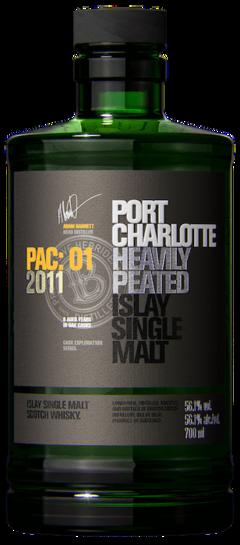 2011 BRUICHLADDICH Port Charlotte PAC: 01 Islay, Lea & Sandeman