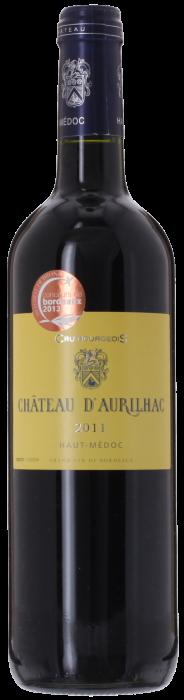 2011 CHÂTEAU D'AURILHAC Cru Bourgeois Médoc, Lea & Sandeman