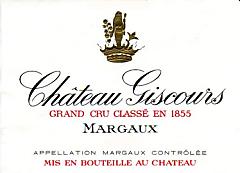 2009-CHÂTEAU-GISCOURS-3ème-Cru-Classé-Margaux