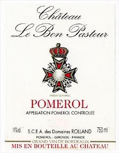 2009-CHÂTEAU-LE-BON-PASTEUR-Pomerol