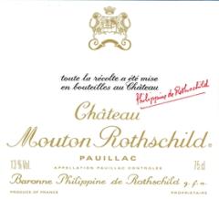 2013-CHÂTEAU-MOUTON-ROTHSCHILD-1er-Cru-Classé-Pauillac