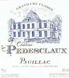 2011-CHÂTEAU-PEDESCLAUX-5ème-Cru-Classé-Pauillac