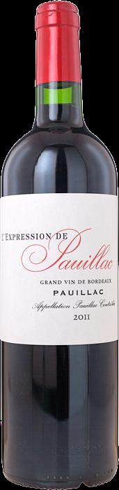 2011 L'EXPRESSION DE PAUILLAC Ulysse Cazabonne, Lea & Sandeman