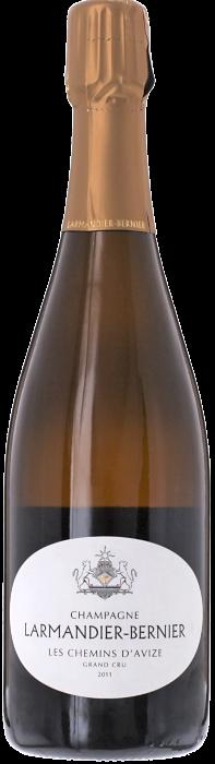 2011 LARMANDIER-BERNIER Les Chemins d'Avize Blanc de Blancs Extra Brut Grand Cru Champagne Larmandier-Bernier, Lea & Sandeman