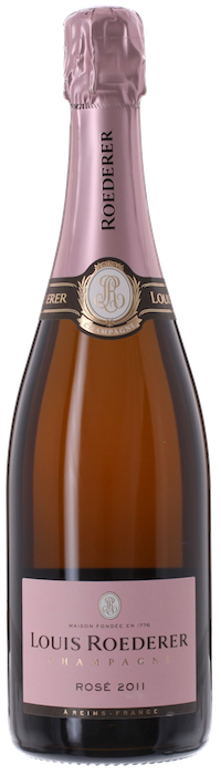 2011 LOUIS ROEDERER Rosé Brut Champagne Louis Roederer, Lea & Sandeman