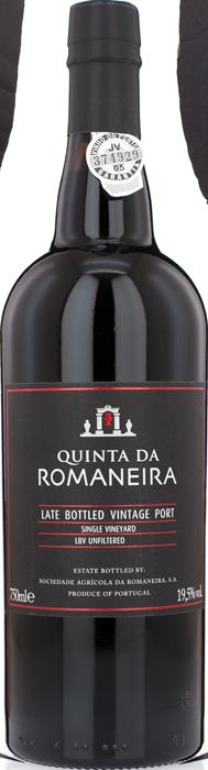 2011 QUINTA DA ROMANEIRA Late Bottled Vintage, Lea & Sandeman