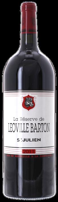2011 RÉSERVE DE LÉOVILLE BARTON Saint Julien, Lea & Sandeman
