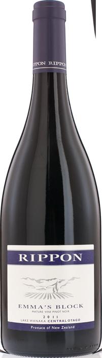 2011 RIPPON Emma's Block Pinot Noir Mature Vine, Lea & Sandeman