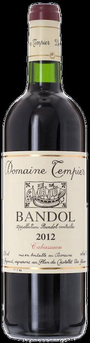 2012 BANDOL Cuvée Cabassaou Domaine Tempier, Lea & Sandeman