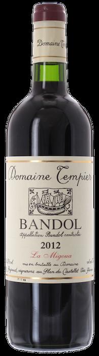 2012 BANDOL Cuvée Migoua Domaine Tempier, Lea & Sandeman